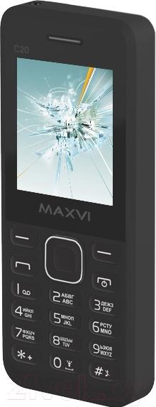 Купить Мобильный телефон Maxvi, C20 (черный), Китай