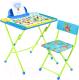 Комплект мебели с детским столом Ника КУ2/ПА Пушистая азбука -