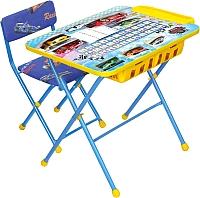 Комплект мебели с детским столом Ника КУ2П/15 Большие гонки -