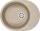 Мойка кухонная Granula GR-6301 (песочный) -