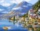 Картина по номерам Picasso Хальштадт. Австрия (PC4050088) -