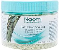 Соль для ванны Naomi С экстрактом эвкалипта KM 0012 (350мл) -