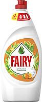 Средство для мытья посуды Fairy Окси Апельсин и лимонник (900мл) -