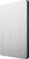 Внешний жесткий диск Seagate Backup Plus Slim Silver 2TB (STDR2000201) -