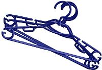 Набор вешалок-плечиков York 5шт (синий) -