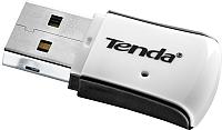 Беспроводной адаптер Tenda W311M (черный/серебристый) -