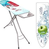 Гладильная доска Ника Эльза Классик / ЭЛК (капли воды с яблоком) -