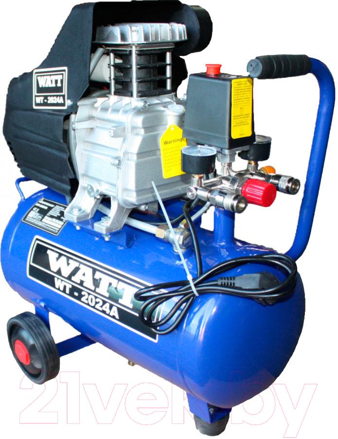 Купить Воздушный компрессор Watt, WT-2024A (X10.210.240.00), Китай