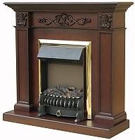 Портал для камина Смолком Verona STD (махагон коричневый антик) -