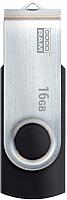 Usb flash накопитель Goodram Twister 16GB Black (UTS2-0160K0R11) -