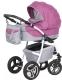 Детская универсальная коляска Riko Angelo 2 в 1 (02/розовый) -