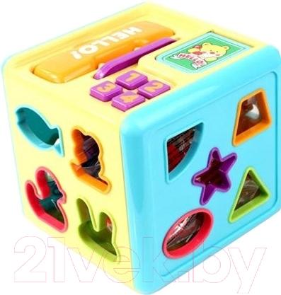 Развивающая игрушка RedBox, Кубик 23116, Китай, пластик  - купить со скидкой