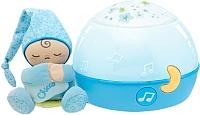Ночник Chicco Звездный ночник-проектор (голубой) -