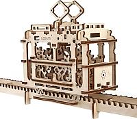 Сборная модель Ugears Трамвай 70008 -
