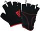 Перчатки для пауэрлифтинга Adidas ADGB-12323RD (L, красный) -