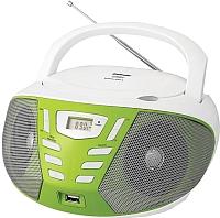 Магнитола BBK BX193U (белый/зеленый) -