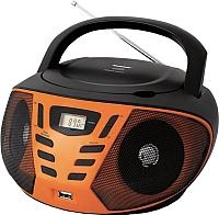 Магнитола BBK BX193U (черный/оранжевый) -