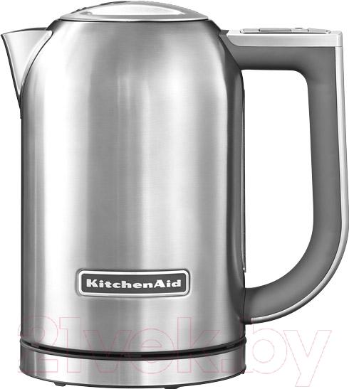 Купить Электрочайник KitchenAid, 5KEK1722ESX, Китай, нержавеющая сталь