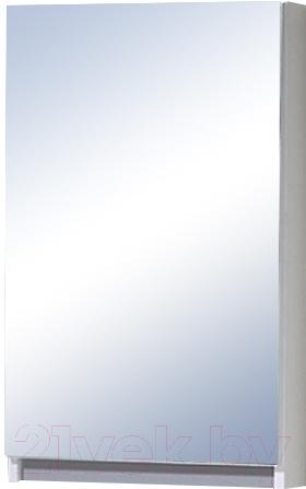 Купить Шкаф с зеркалом для ванной Акваль, Афина 45 / АФИНА.04.45.00.L, Беларусь