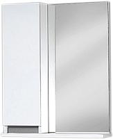 Шкаф с зеркалом для ванной Акваль Афина 55 (АФИНА.04.55.00.L) -