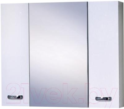 Шкаф с зеркалом для ванной Акваль София 80 / ES.04.80.00.N