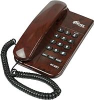 Проводной телефон Ritmix RT-320 (кофейный) -