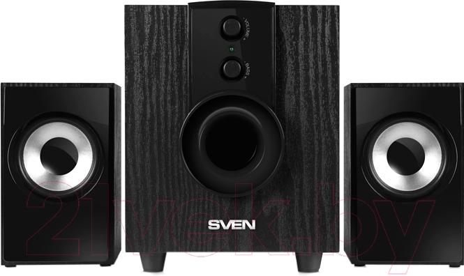 Купить Мультимедиа акустика Sven, MS-107 (черный), Китай