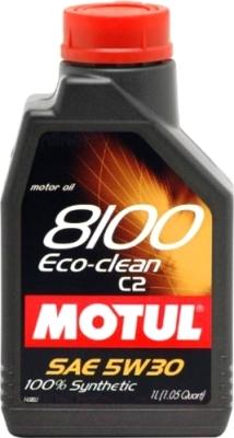 Моторное масло Motul 8100 Eco-clean 5W30 / 101542 (1л)