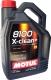 Моторное масло Motul 8100 X-clean+ 5W30 / 106377 (5л) -