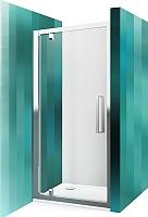 Душевая дверь Roltechnik Exclusive Line ECDO1N/90 (черный/прозрачное стекло) -