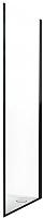 Душевая стенка Roltechnik Exclusive Line ECDBN/90 (черный/прозрачное стекло) -