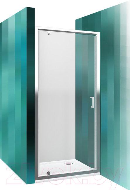 Купить Душевая дверь Roltechnik, Lega Line LLDO1/90 (хром/прозрачное стекло), Чехия