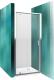Душевая дверь Roltechnik Lega Line LLDO1/90 (хром/прозрачное стекло) -
