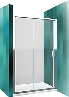 Душевая дверь Roltechnik Lega Line LLD2/120 (хром/прозрачное стекло) -