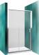 Душевое ограждение Roltechnik Lega Line LLD2/120 (хром/прозрачное стекло) -