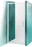 Душевая дверь Roltechnik Proxima Line PXDO1N/80 (хром/прозрачное стекло) -