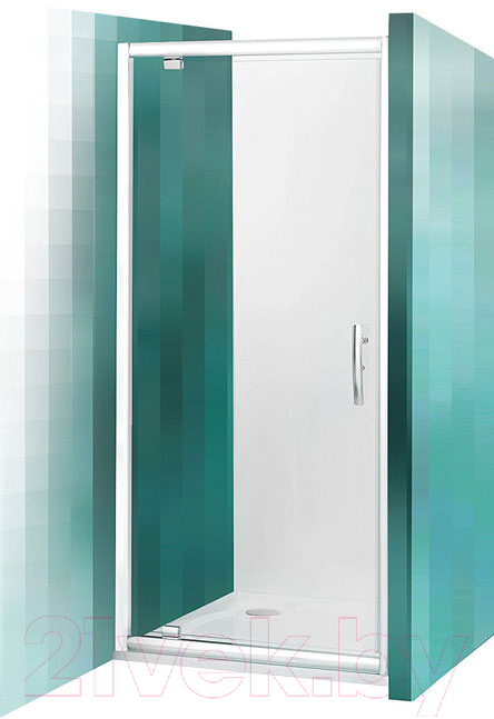 Купить Душевая дверь Roltechnik, Proxima Line PXDO1N/80 (хром/прозрачное стекло), Чехия