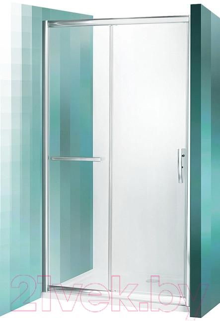 Купить Душевая дверь Roltechnik, Proxima Line PXD2N/120 (хром/прозрачное стекло), Чехия