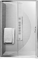 Душевая дверь Roltechnik Proxima Line Design Plus PXD2N/120 (хром/стекло с узором) -