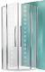 Душевое ограждение Roltechnik Tower Line TR2/90 Design Plus / 702-900E000 (хром/стекло с узором) -