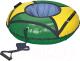 Тюбинг-ватрушка Ника ТБК-70 700мм (зеленый/желтый) -