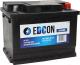 Автомобильный аккумулятор Edcon DC56480R (56 А/ч) -