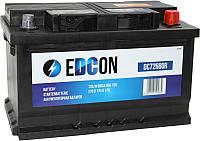 Автомобильный аккумулятор Edcon DC72680R (72 А/ч) -