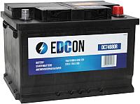 Автомобильный аккумулятор Edcon DC74680R (74 А/ч) -