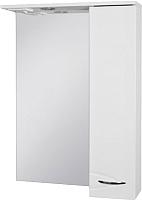 Шкаф с зеркалом для ванной Ювента Рио ШНЗ1-60 (правый) -