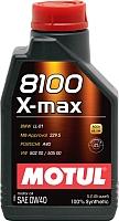 Моторное масло Motul 8100 X-max 0W40 / 104531 (1л) -