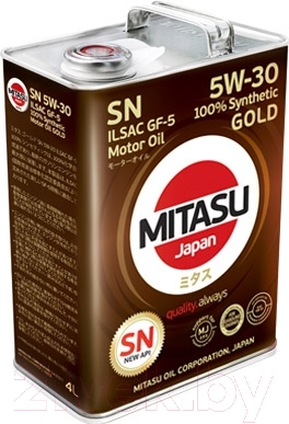 Моторное масло Mitasu Gold 5W30 / MJ-101-4 (4л)
