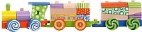Развивающая игрушка Eco Toys Поезд с кубиками 2009 -