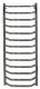Полотенцесушитель водяной Gloss & Reiter Terra Л.50x120.Т13 (1/2