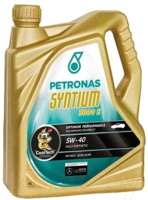 Моторное масло Petronas Syntium 3000 E 5W40 / 18054019 (4л)